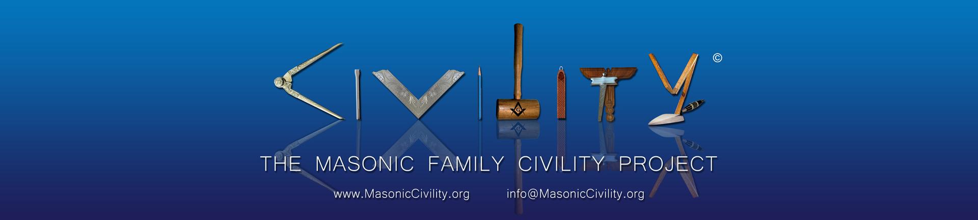 Masonic Family Civility wide banner