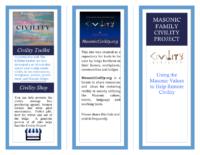 Brochure about MasonicCivility