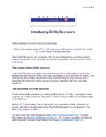 Civility Scorecard Launch Announcement